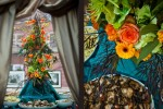 Flower arrangements by Esprit de Fleur (Photos by Red Box Pictures)
