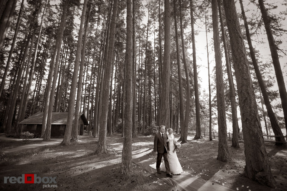 Kitsap Memorial State Park Wedding.Kitsap Memorial State Park Wedding Corrine Nicko Bride