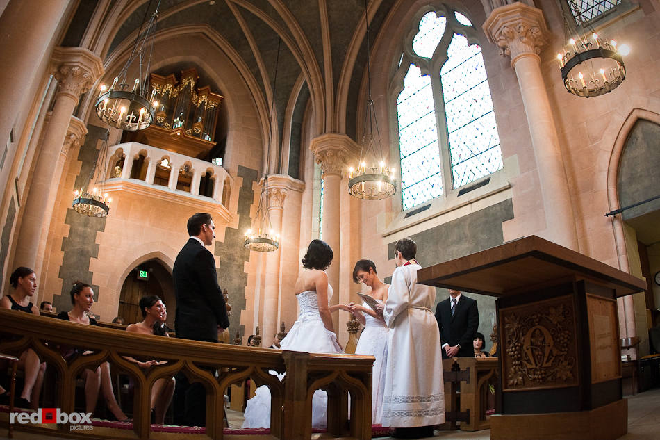 Kirsten And Rebecca Are Married In Thomsen Chapel At St Mark S Cathedral Seattle On