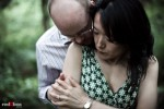 Seward Park Engagement | Nobuyo + Rory