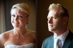 Portraits of Angi and Mike before their wedding at The Willows Lodge in Woodinville, WA. (Photo by Dan DeLong/Red Box Pictures)