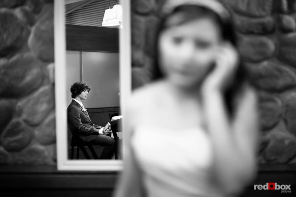 Anghi and Andy before they married at The Canal in Seattle. (Photo by Dan DeLong/Red Box Pictures)