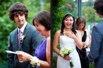 Anghi and Andy are married at The Canal in Seattle. (Photo by Dan DeLong/Red Box Pictures)