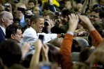 President Obama at the University of Washington with Sen. Patty Murray