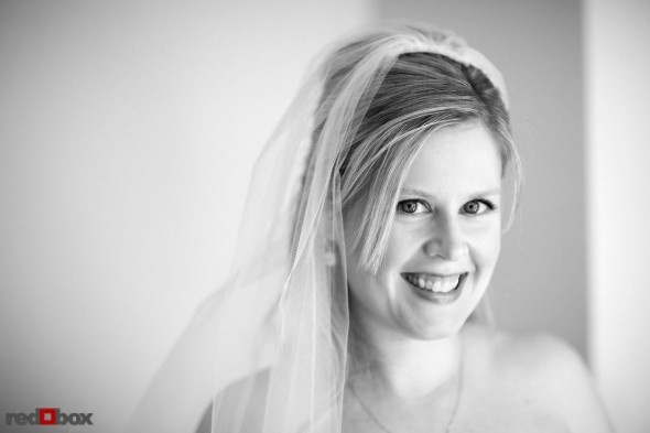 A portait of the bride at the Sorrento Hotel in Seattle, Washington. (Seattle Wedding Photography Scott Eklund Red Box Pictures)