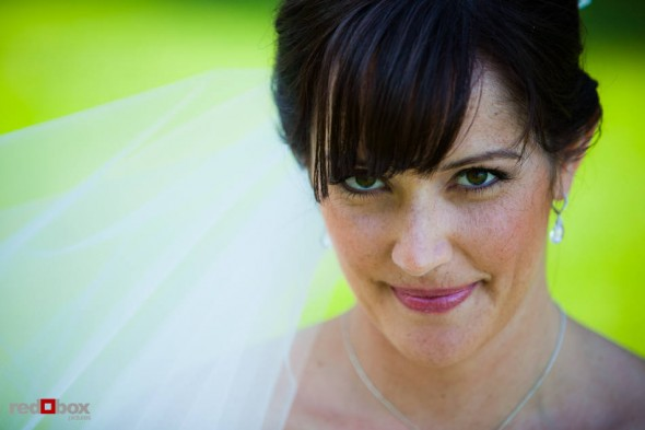 A portrait of the bride, Suzy, before her wedding with Michael at Kiana Lodge near Bainbridge Island, WA. (Photo by Andy Rogers/Red Box Pictures)