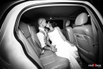 Inside their limo, Liz and Ted kiss before departing Hidden Meadows for Seattle. (Photo by Dan DeLong/Red Box Pictures)
