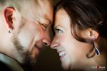 Liz and Ted during a photo session at Hidden Meadows in Snohomish, WA. (Photo by Dan DeLong/Red Box Pictures)