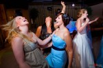 Girls just want to have fun at the reception at Lord Hill Farms in Snohomish, Washington. Wedding Photography By Scott Eklund Red Box Pictures Seattle