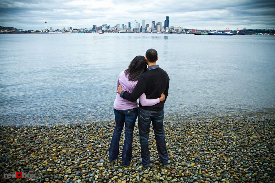 The Seattle Skyline From