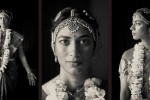 Karthik is dressed in her Indian wedding finery prior to her Indian wedding ceremony at the Uptown Hideaway in Seattle. (Photos by Dan DeLong/Red Box Pictures)