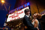 Paramount Theatre Wedding Photos | Summer + Jeff
