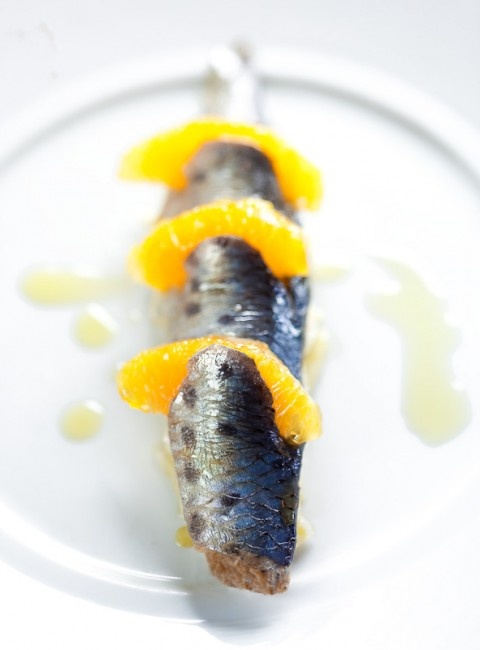 Client-Bisato - Marinated sardine with shaved fennel 