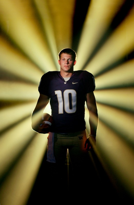 Sports Portraiture -Football - Jake Locker