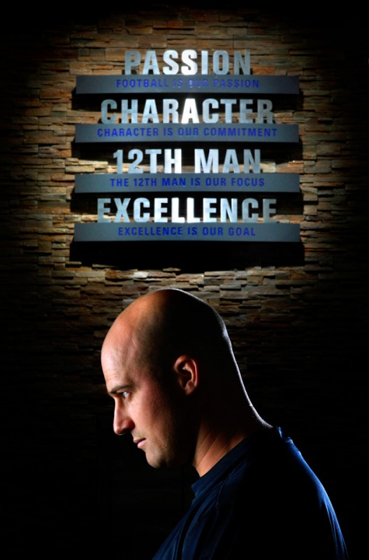 Sports Portraiture -Football Matt Hasselbeck