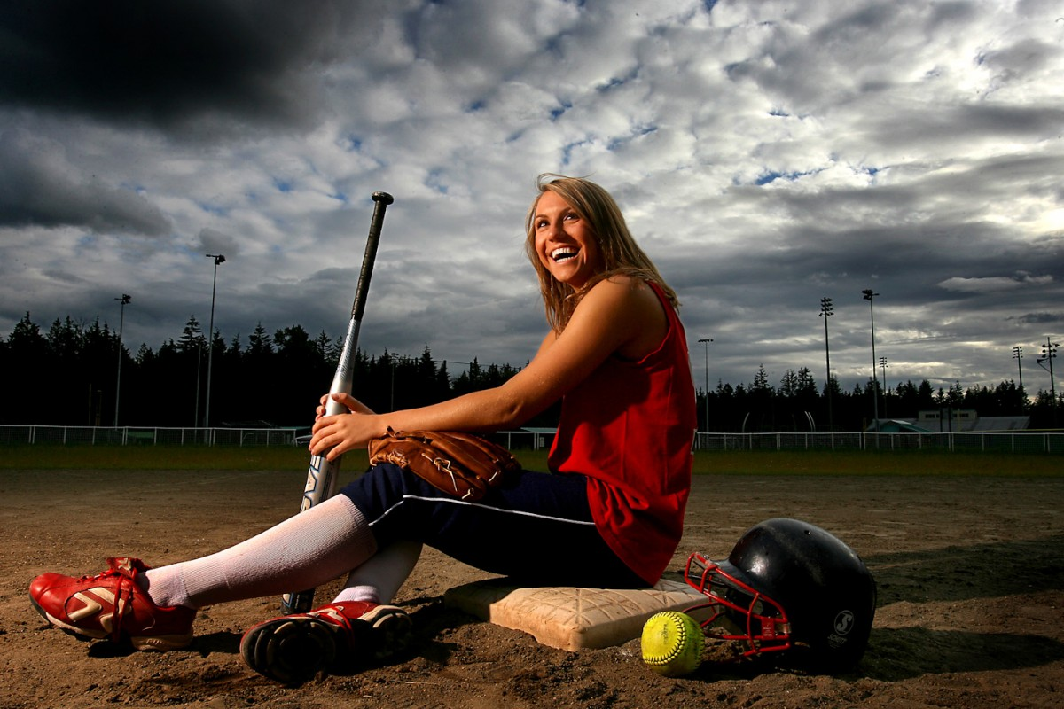 Sports Portraiture -Softball