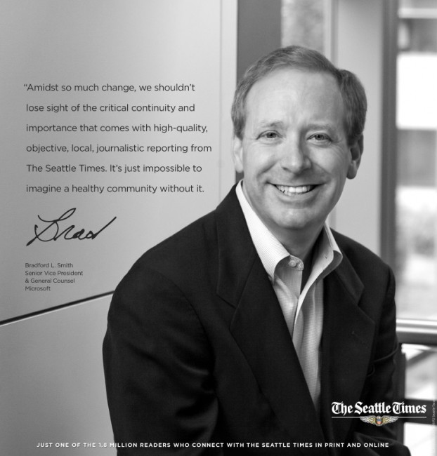 Client - The Seattle Times - Brad Smith