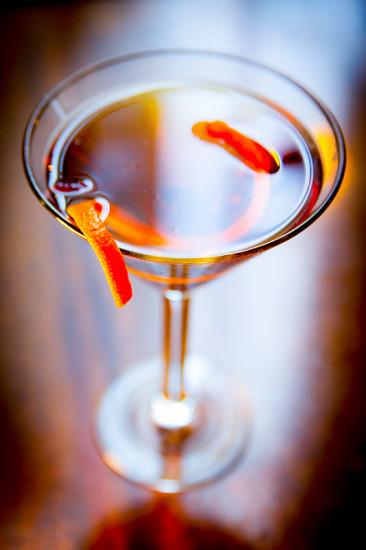 Metropolitan Grill Manhattan Martini