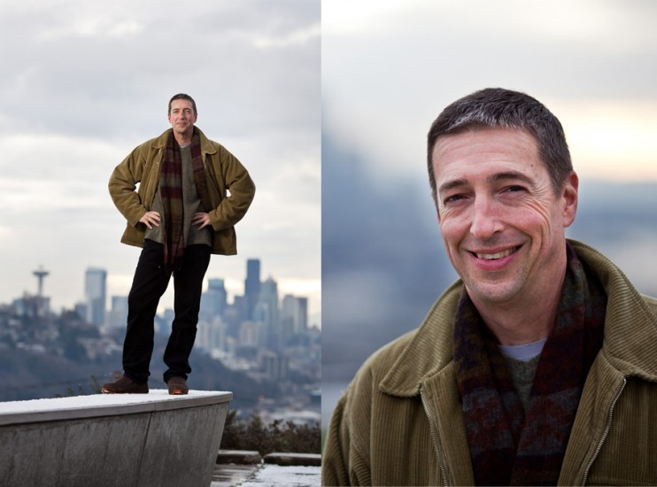 Portrait of Ron Reagan. (Photo by Rob Sumner / Red Box Pictures)