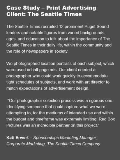 Case Study - client -The Seattle Times
