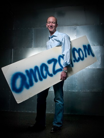 Business Portrait-Jeff Bezos