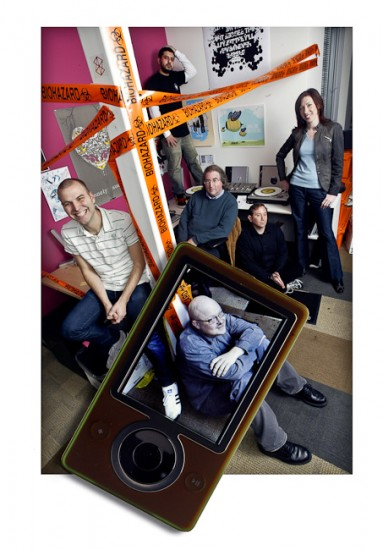 Business Portrait-Zune Team
