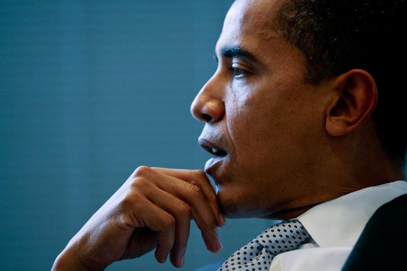 Portrait Photography  - Barak Obama