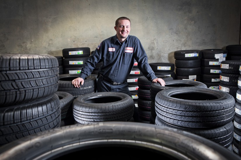 Costco Tire Center -Manager Portrait