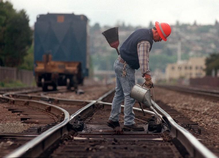 BNSF Railroad Work Interbay