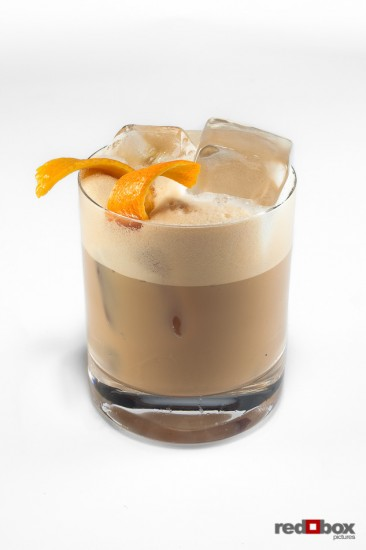 Beverage photography - baileys ced coffee cocktails