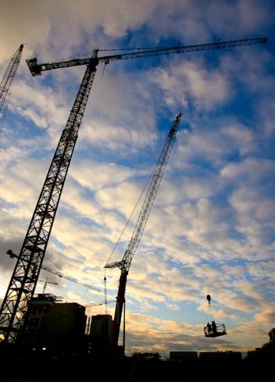 Construction Cranes Bellevue