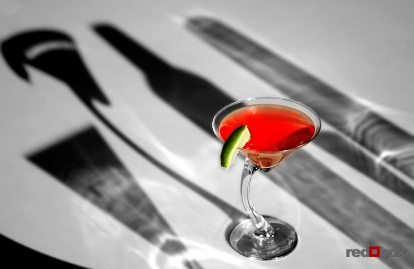 Beverage photography martini seattle