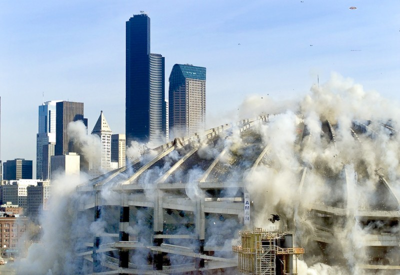 kindome implosion demolition