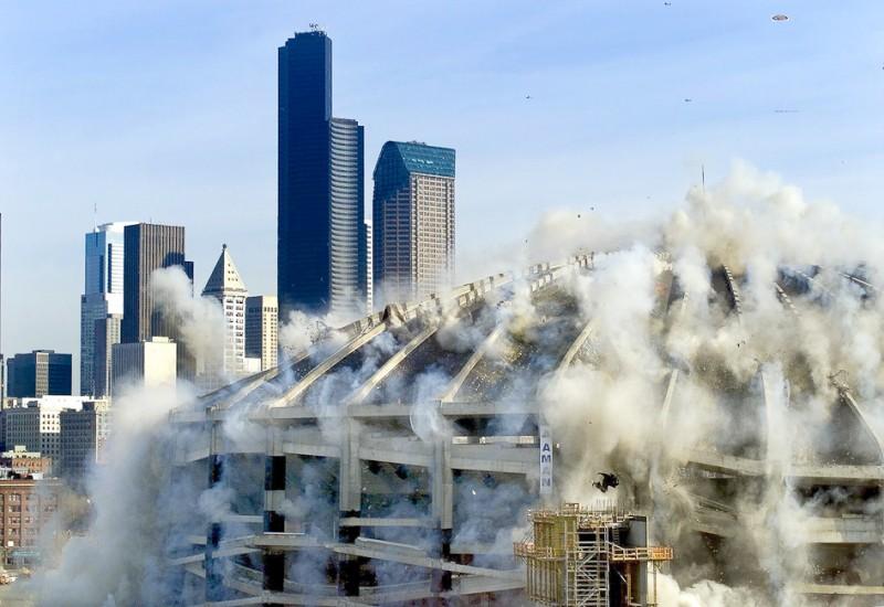 kindome implosion demolition