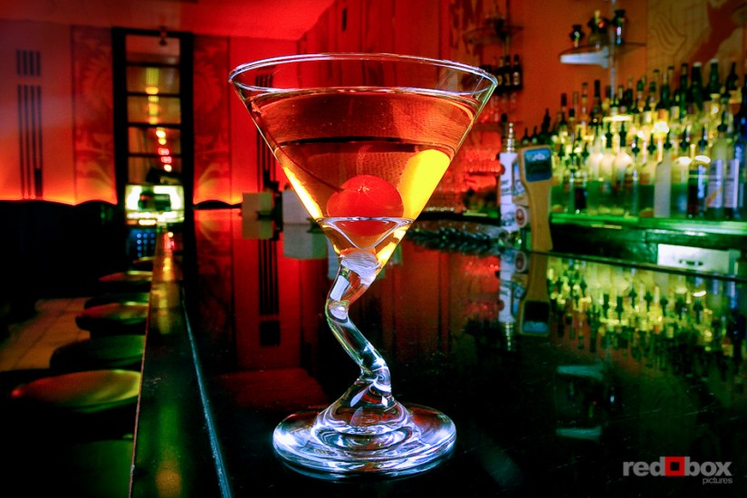 Beverage Photography - Rob Roy