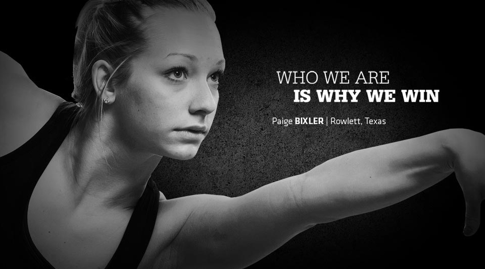 University of Washington Paige Bixler Gymnastics