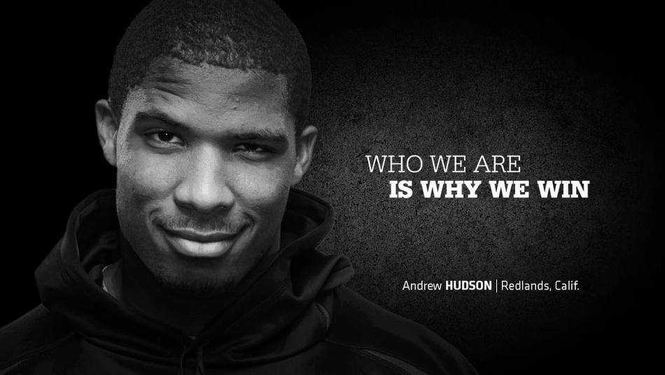 University of Washington Andrew Hudson Football