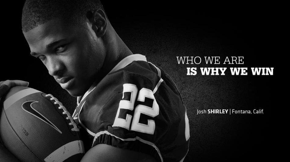 University of Washington Josh Shirley Football