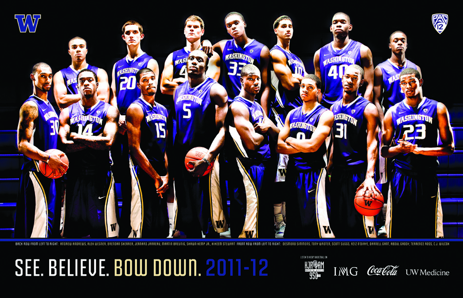 UW Men&#039;s Basketball Poster