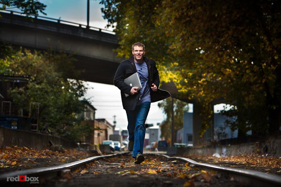 GeekWire calendar shoot - Marc Nager