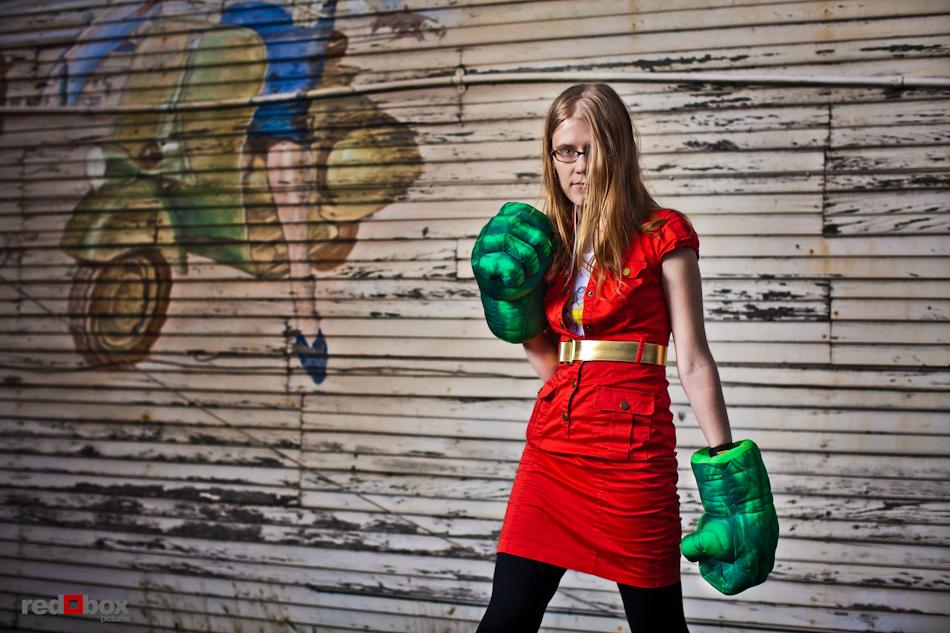 GeekWire calendar shoot - Erica McGillivray