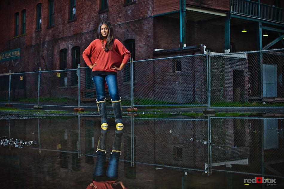 GeekWire calendar shoot - Nadia Mahmud